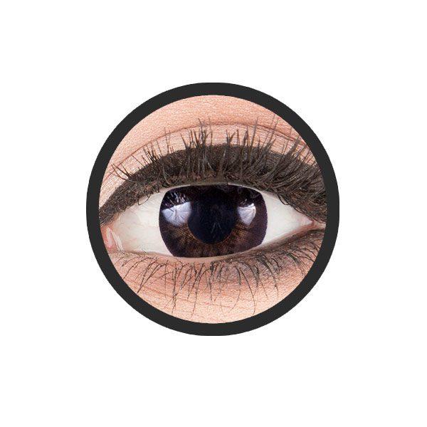 Big Eyes dolly zwart kleurlenzen
