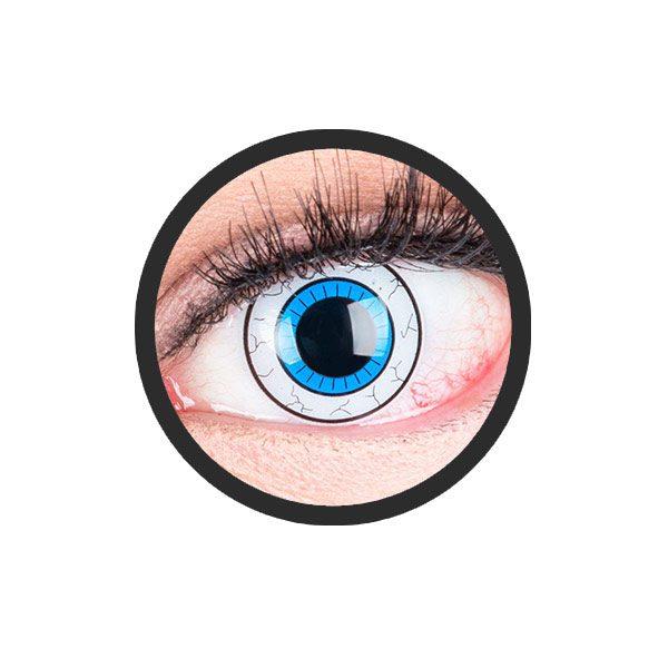 Comic oog kleurlenzen