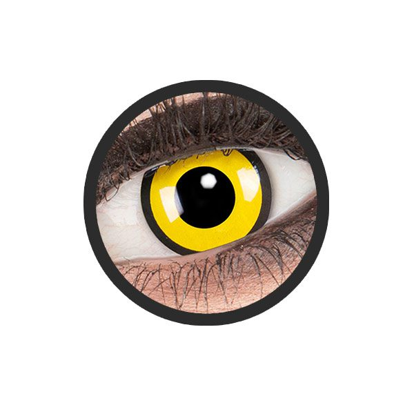 Geel zwarte kleurlenzen