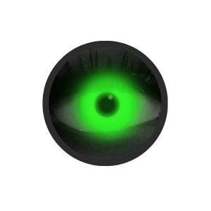 Glow groene kleurlenzen