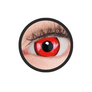 Sclera rode lunatic lenzen 17mm